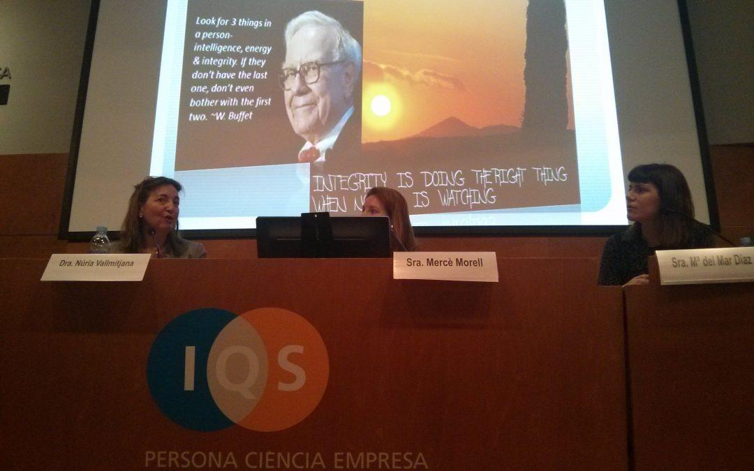 Jornada «Validación de Sistemas Informáticos / Data Integrity» en IQS-URL