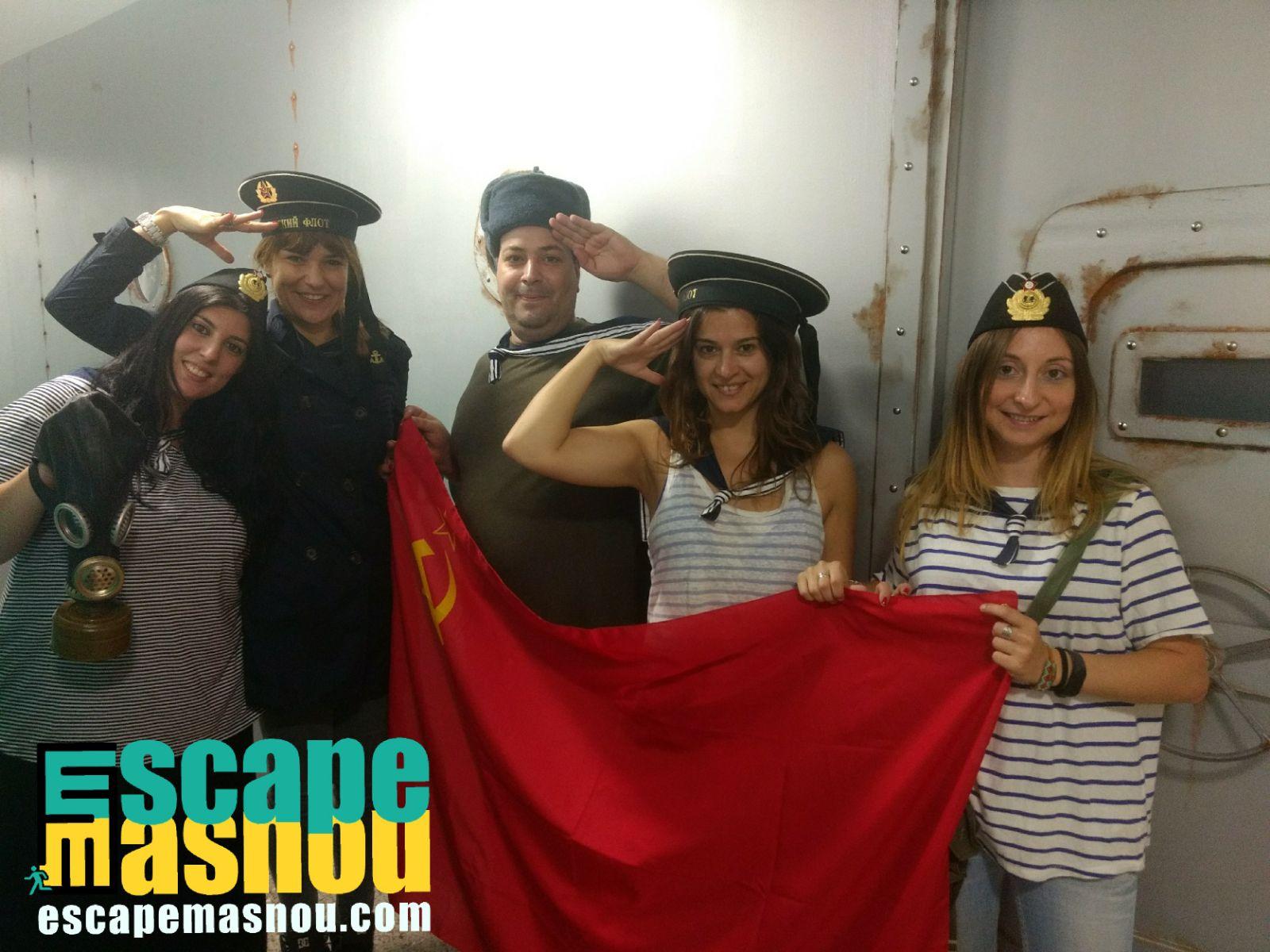 ASSI en el submarino soviético