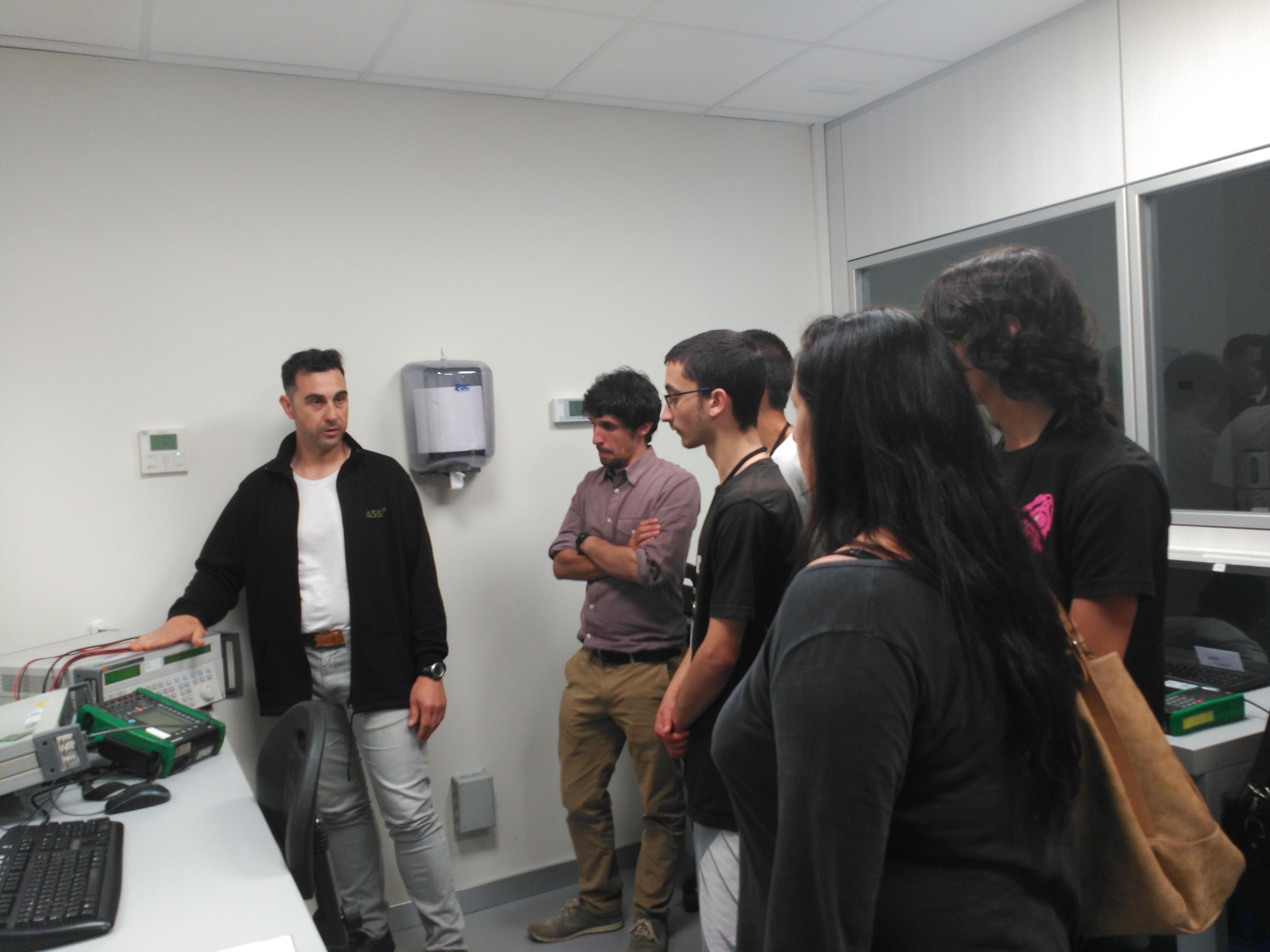 ASSI recibe la visita de estudiantes del CFGM de Instalaciones Eléctricas y Automatismos de Premià de Mar