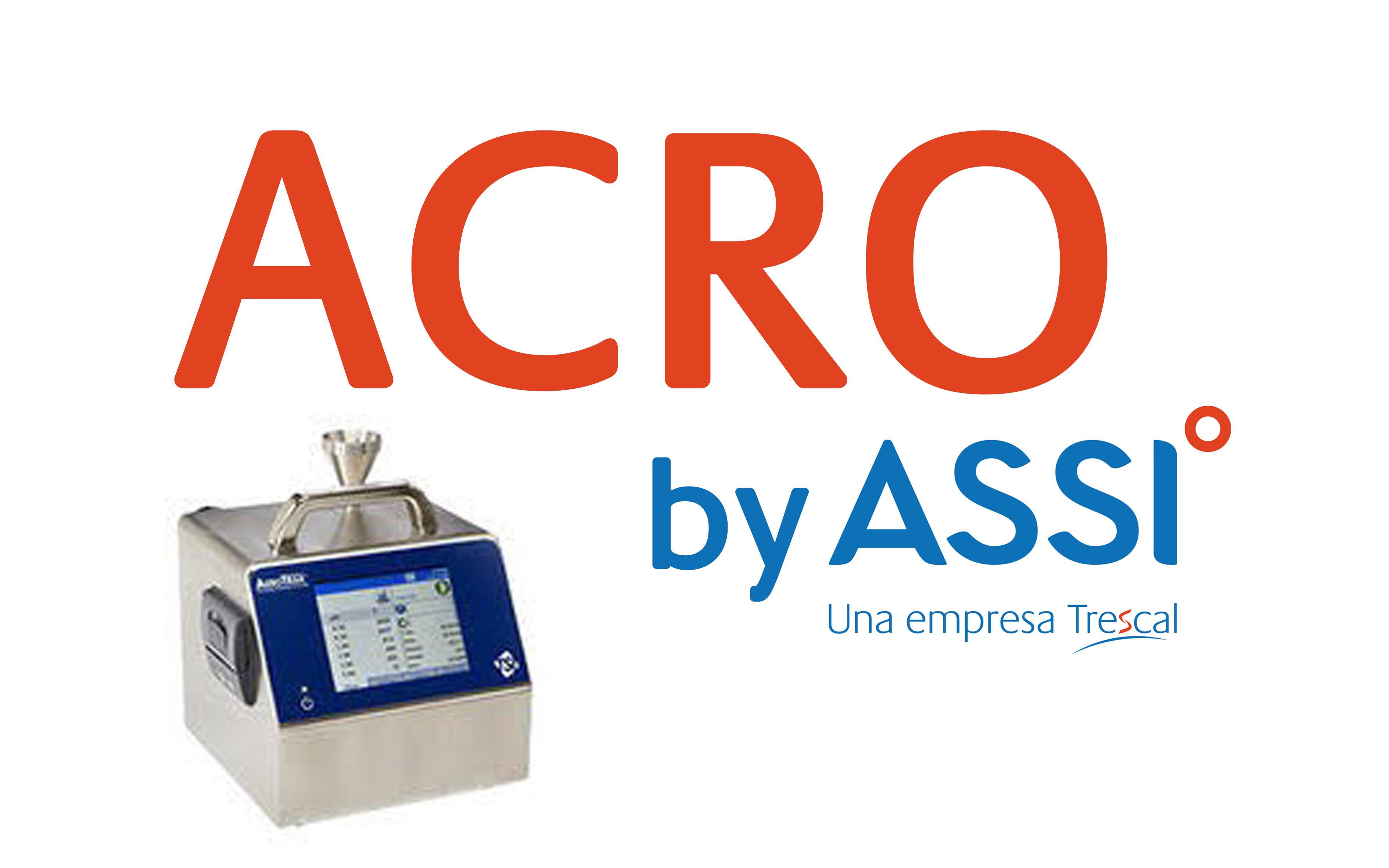 Nueva funcionalidad en nuestro software ACRO para la cualificación de salas limpias y cabinas