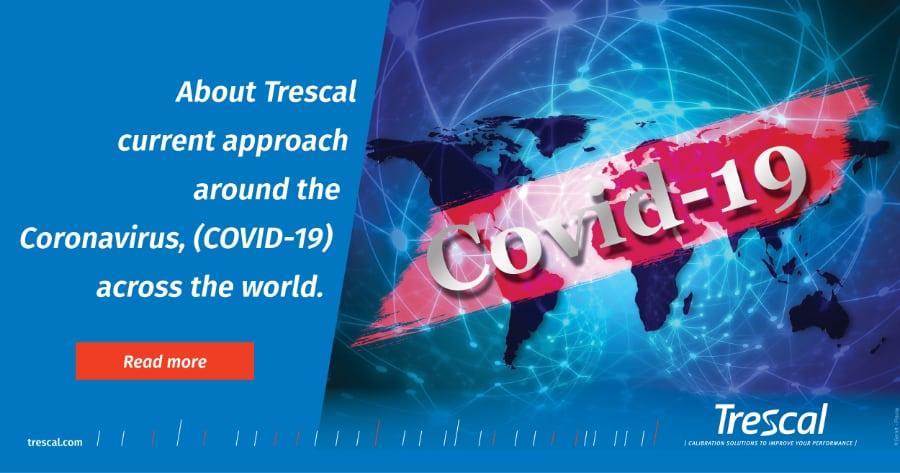 Enfoque de Trescal sobre el coronavirus (COVID-19) en todo el mundo