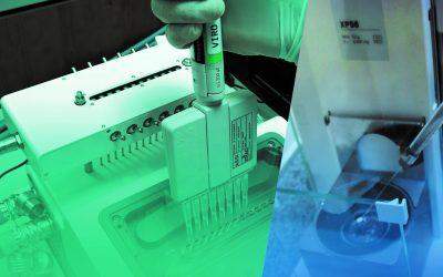 Calidad y eficiencia en la calibración y mantenimiento de micropipetas multicanal y monocanal con el sistema MedReader
